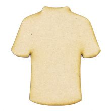 Football Shirt - 3mm MDF wood blank scrapbook card craft embellishment topper